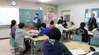 寄付の教室@高島高等学校