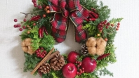 クリスマスリースチャリティーワークショップ 「私のため」が「子どもたちの未来のため」に・・・