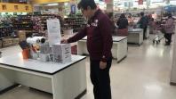 【秋田・横手】誰もが訪れるスーパーマーケットで寄付を広げます!<br /> 台風19号被災地支援活動への支援金募金