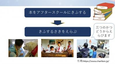 桐蔭学園小学校アフタースクール|子どもたちが本を寄付し、寄付先を決めます。(12/10-24)